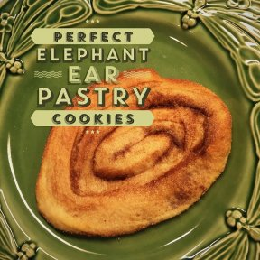 Elephant Ear Pastry Cookies Recipe