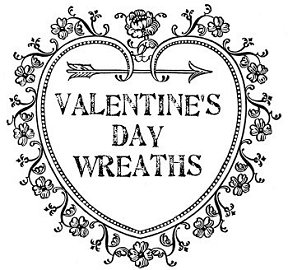Sweet ideas for Valentine's Day wreaths